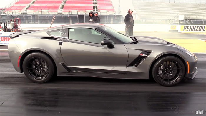 [VIDEO] Daily Driver C7 Corvette Z06 with 1055 HP Runs in the Nines
