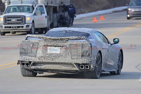 C8 Mid-Engine Corvette Prototype