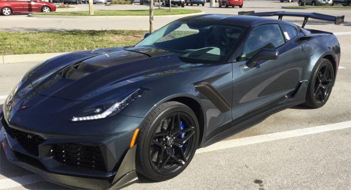 2019 Gray / Gray ZR1 with ZTK