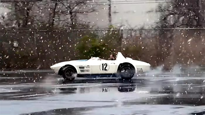 [VIDEO] Watch a $10 Million Corvette Grand Sport Play in the Snow