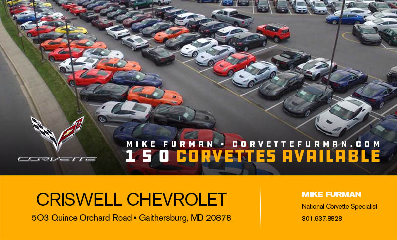 """Corvette Deliveries with Mike Furman """"width ="""" 585"""