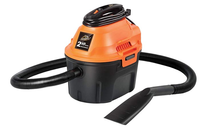 [AMAZON] Armor All 2.5 Gallon, 2 Peak HP, Utility Wet/Dry Vacuum