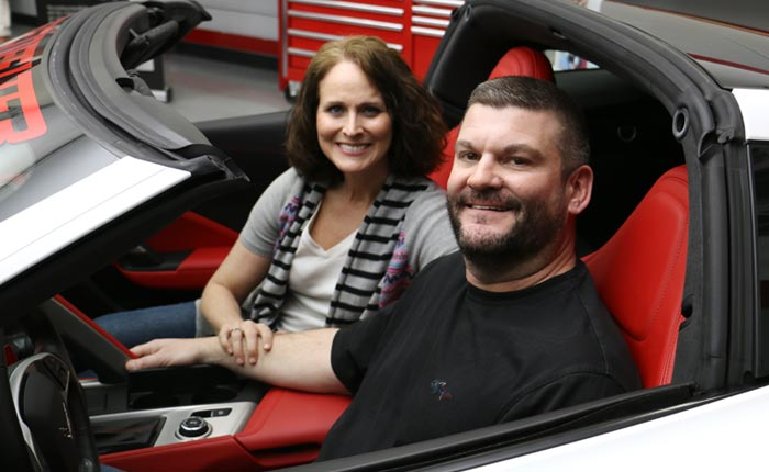 Army Contractor from Alabama Wins the 2018 Corvette Dream Giveaway
