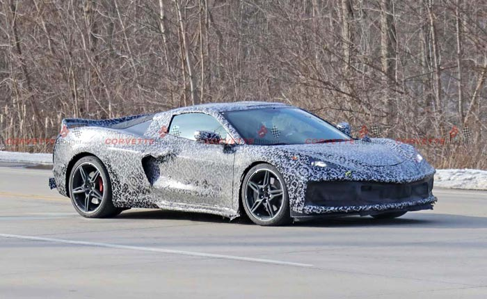 [RUMOR] C8 Mid-Engine Corvette To Start Production in December?