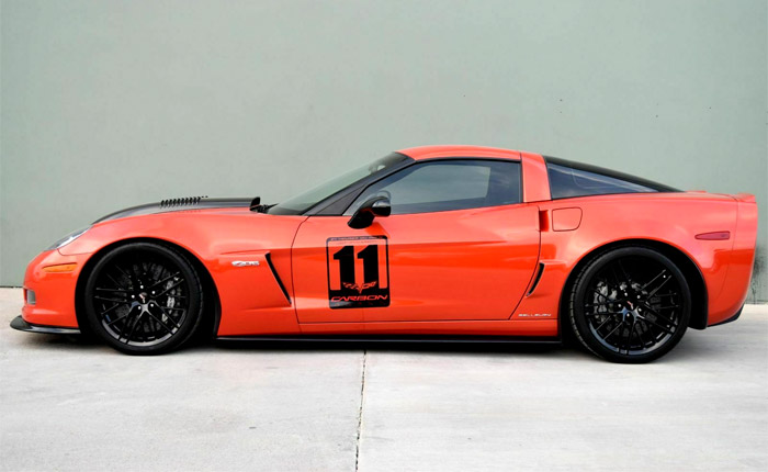 Corvettes on eBay: 2011 Callaway Carbon Edition Corvette Z06
