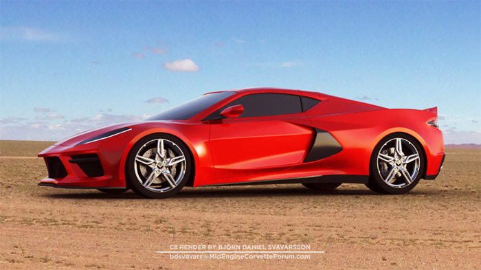 Kerbeck Announces They Are Taking Deposits for the C8 Mid-Engine Corvette
