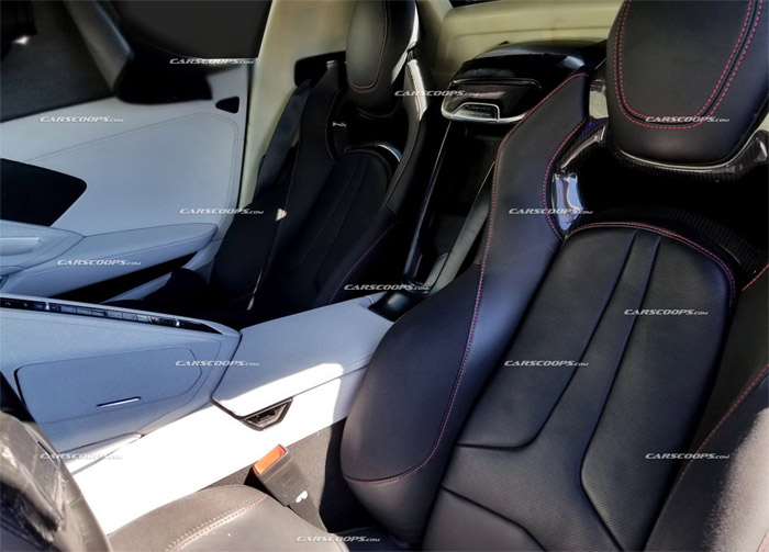 [SPIED] New C8 Mid-Engine Interior Spy Photo Reveals 'Stingray' Name