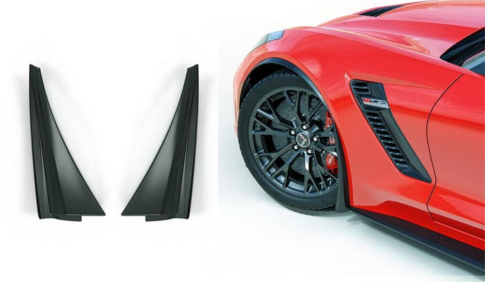 C7 XL Front Wheel Rock Guards