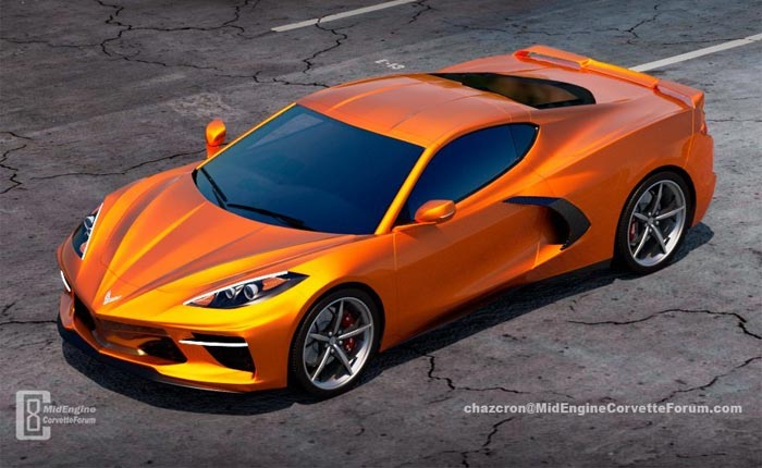 [PICS] New Chazcron C8 Corvette Renders Will Wake You Up!