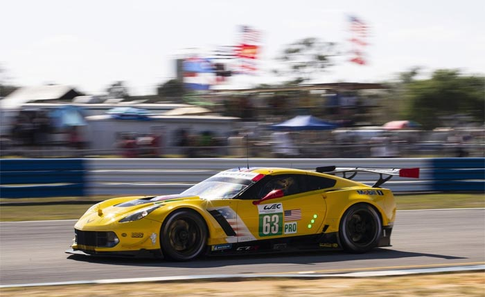 Corvette Racing at Sebring: Fifth-Place Class Start for Sebring 1,000 Miles