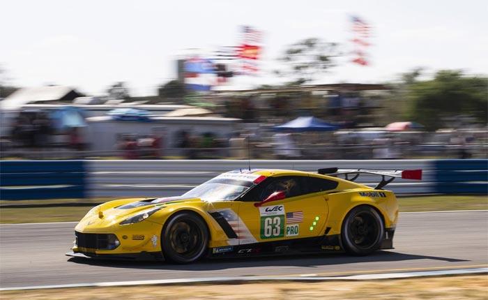 Corvette Racing at Sebring: Fifth-Place Class Start for Sebring