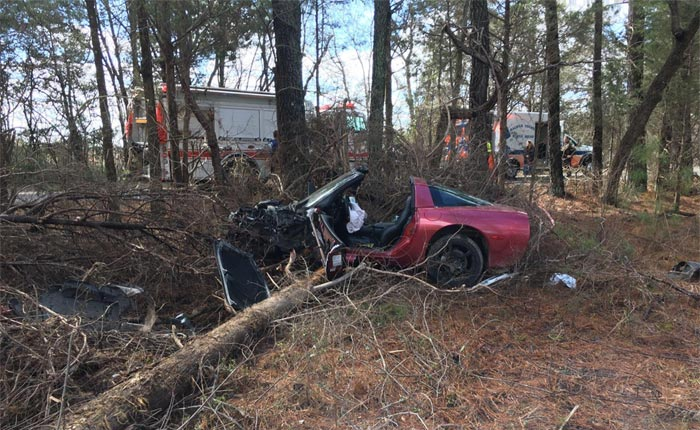 [ACCIDENT] Two Brothers Injured After 2001 Corvette Goes Airborne in Crash