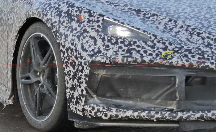 [SPIED] New Detroit Spy Photos of the C8 Corvette Reveal New Details