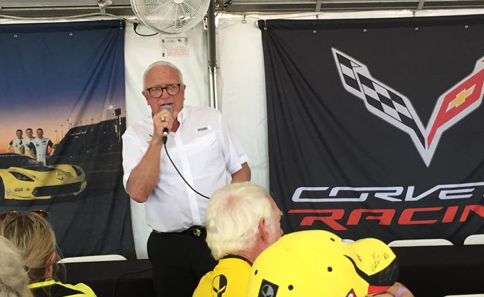 [VIDEO] Corvette Racing's Doug Fehan Addresses Corvette Owners During Super Sebring Weekend