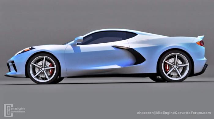 [VIDEO] Chazcron's 360-degree All American C8 Corvette Renders