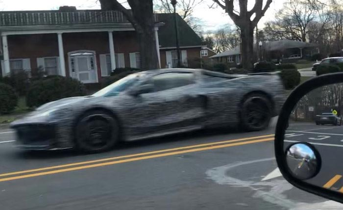 [SPIED] C8 Mid-Engine Corvette Prototypes Testing in North Carolina