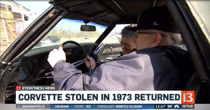 [VIDEO] 1969 Corvette Stolen 44 Years Ago is Recovered and Returned to its Owners