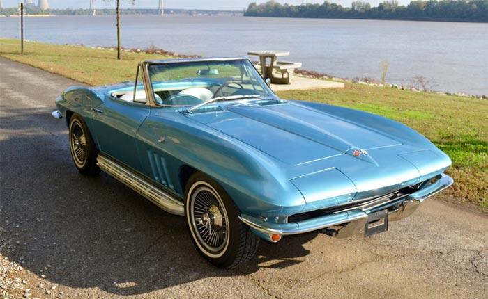 The 31st Annual St. Bernard Classic Corvette Raffle Features a 1965 Corvette Convertible Grand PrizeE