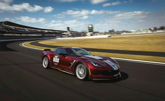 [PICS] 2019 Corvette Grand Sport to Pace the 103rd Indianapolis 500