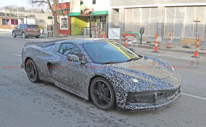 [SPIED] New C8 Corvette Interior Spy Photos Show Details of the Instrument Cluster