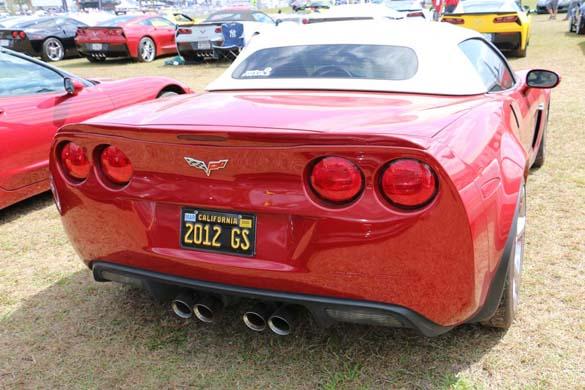 The Corvette Vanity Plates of the 2019 Mobil 1 Twelve Hours of Sebring