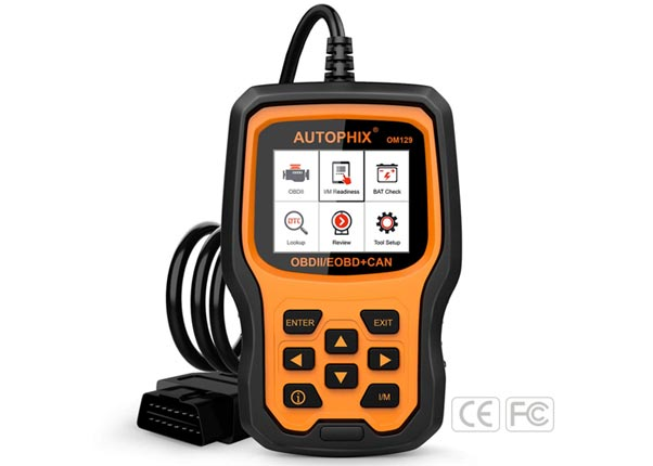 [AMAZON] Save 20% on the Autophix OM129 OBDII Car Diagnostic Scanner and Battery Tester