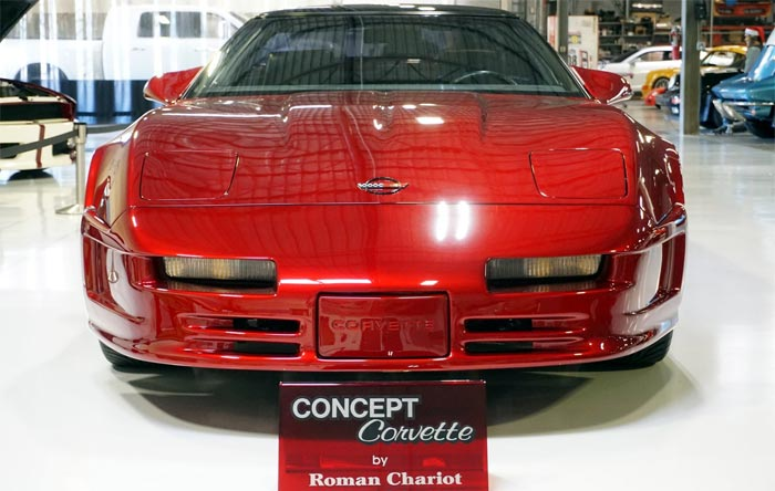 Corvettes for Sale: Highly Customized 1989 Corvette 'Concept'