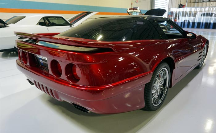 Corvettes for Sale: Highly Customized 1989 Corvette 'Concept'