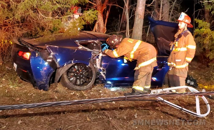 [ACCIDENT] Speed and Alcohol Play Role in Crash of a Corvette Grand Sport