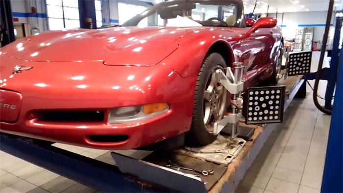 [VIDEO] Paul Koerner Aligns the C5 Corvette in Final Step of Leaky Drivetrain Project