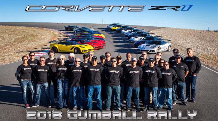 [VIDEO] Ron Fellows and 20 Corvette ZR1's Roadtrip from Detroit to Spring Mountain