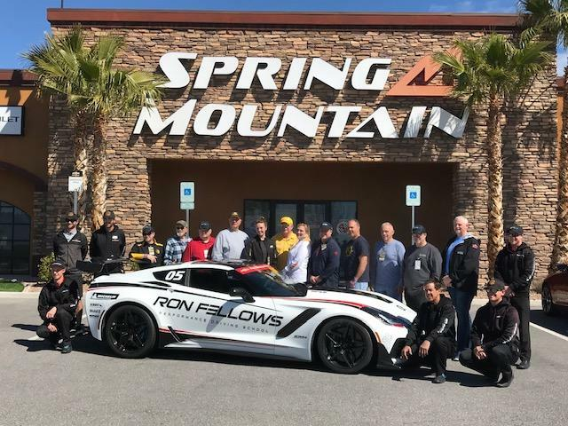 Mike Furman's 2019 Corvette ZR1 Owner School at Spring Mountain