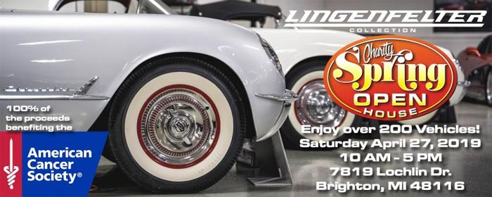 Lingenfelter Spring Open House Scheduled for April 27th