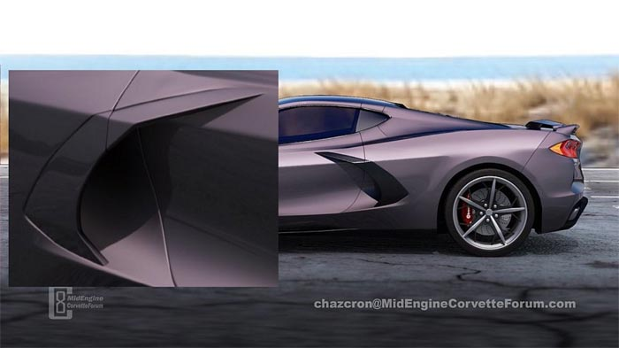 [PICS] Chazcron Discusses the C8 Corvette's Side Scoop Design