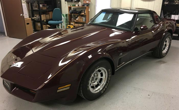 Corvettes on eBay: Dark Caret 1980 Corvette L82 with 1,447 Original Miles