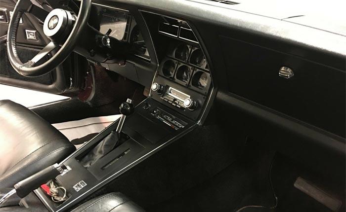 Corvettes on eBay: Dark Caret 1980 Corvette L82 with 1,447 Original Miles