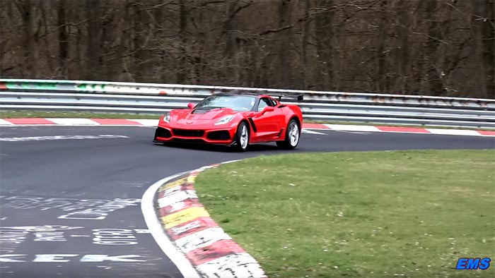 [PICS] Jim Mero Confirms He Lapped the Nurburgring in 7:04 with the 2019 Corvette ZR1