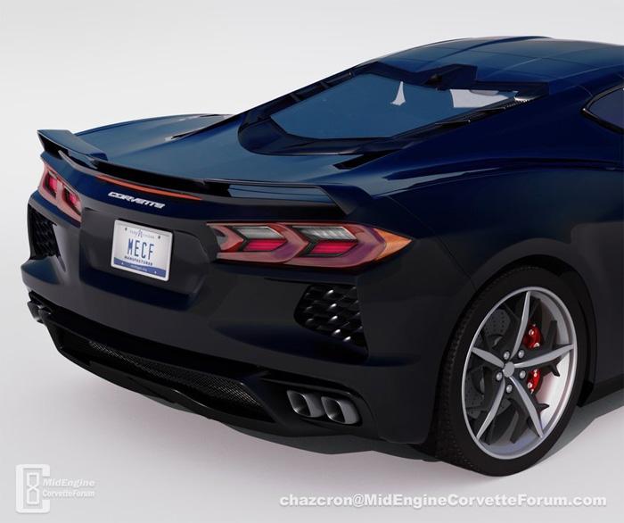 [PICS] Chazcron Discusses the C8 Corvette's Side Scoop Design
