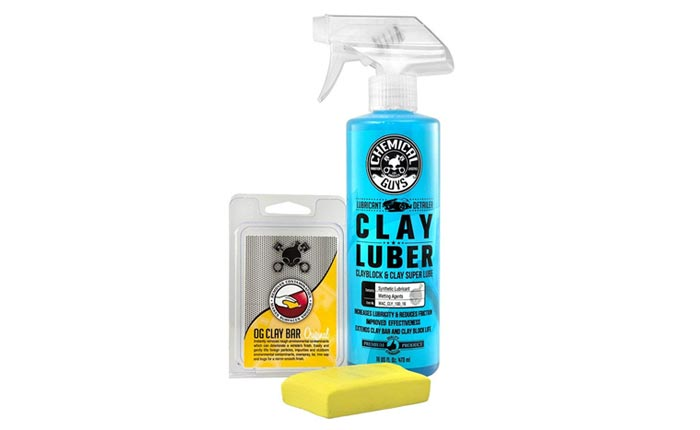 [AMAZON] Chemical Guys OG Clay Bar and 16 oz. Lubrication Spray
