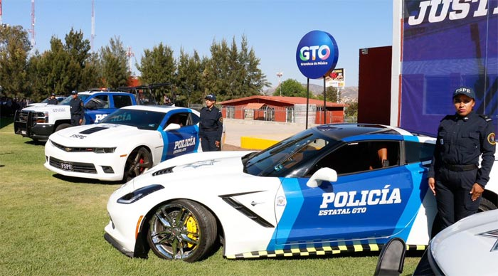 [VIDEO] Mexician Police Force Adds a Corvette Stingray and Other Vehicles Seized from Criminals