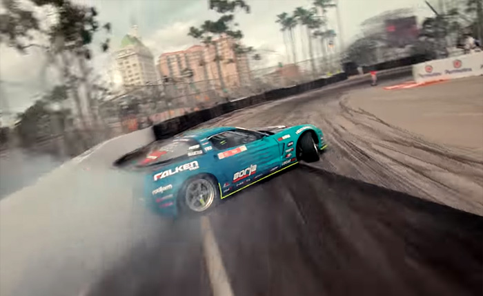 [VIDEO] Matt Field's Insane Qualifying Run in Forumula DRIFT
