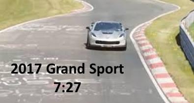 Corvette Nurburgring Times