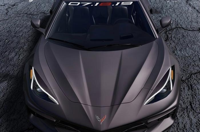 [PIC] Chazcron Updates the 2020 Corvette's Headlights after the C8 Shows More in NYC