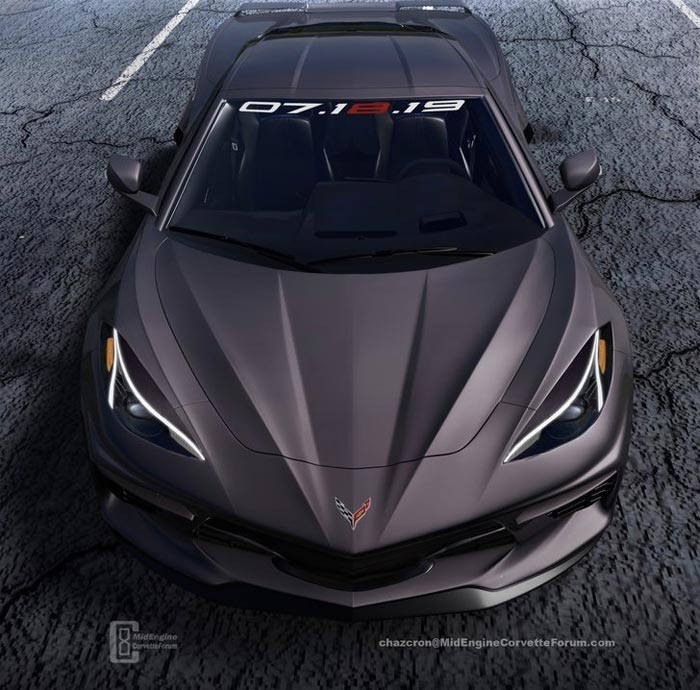 [PIC] Chazcron Updates the Mid Engine Corvette's Headlights after the C8 Shows More in NYC