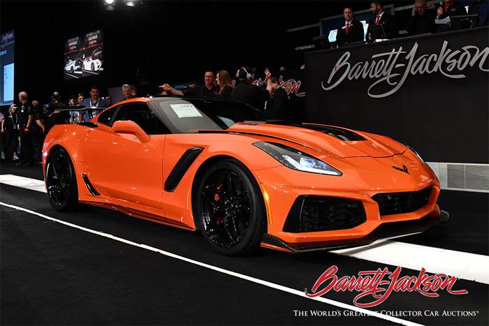 2019 Corvette ZR1 at Barrett-Jackson Palm Beach