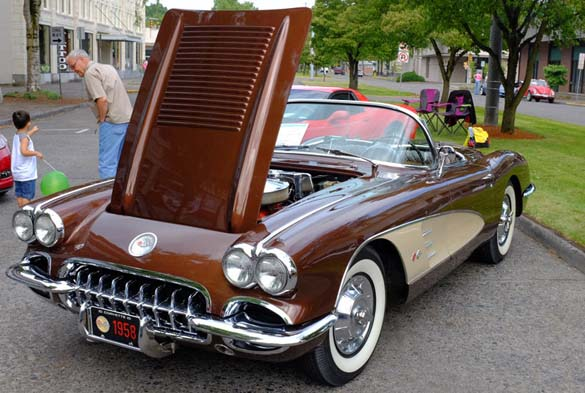 Is the World Ready for a Brown C8 Mid-Engine Corvette?
