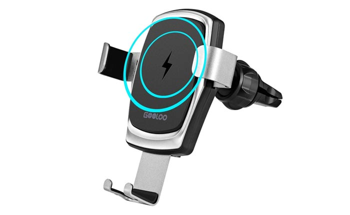 [AMAZON] Save 34% on the GOOLOO Wireless Car Charger Mount for Air Vents
