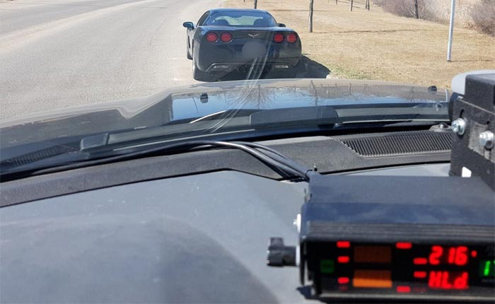 Speeding C6 Corvette Driver Faces $2K in Fines and Has Corvette Impounded by Canadian Police