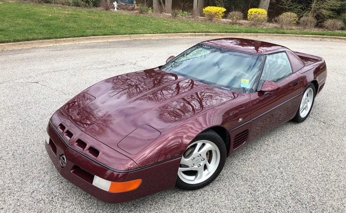 Corvettes for Sale: 1993 Callaway 40th Anniversary SuperNatural Convertible #001
