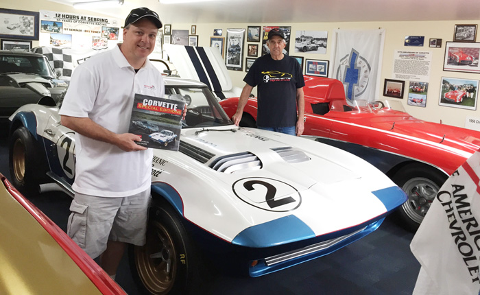 I'm Holding Two Book Signings for 'Corvette Special Editions' at the NCM Bash